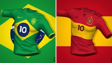 Las camisetas de las selecciones mundialistas inspiradas en sus banderas