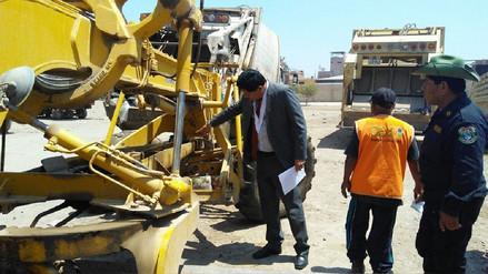 Fiscalía verificó mal estado de maquinaria de limpieza de José Leonardo Ortiz