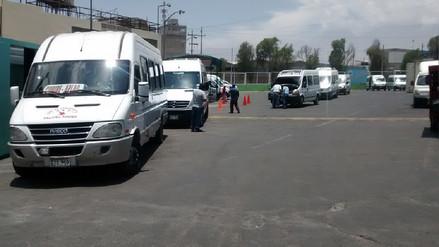 Durante el 2017 la Sutran sancionó a unas 300 minivan informales