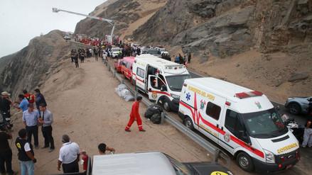 Sutran: bus de pasajeros y tráiler excedieron el límite de velocidad en Pasamayo