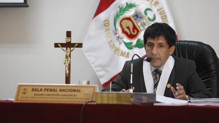 La Policía reforzó seguridad a juez Concepción Carhuancho ante alerta de posible atentado