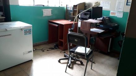 La Oroya: desconocidos roban en centro de salud de Huaynacancha