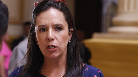 Marisa Glave tras salida de Fujimori: