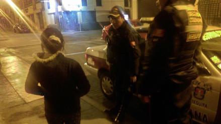 Serenos hallan a menor extraviada en el Cercado de la ciudad
