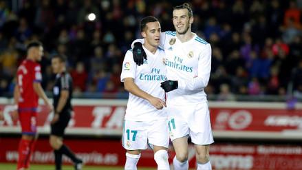 Real Madrid goleó al Numancia por la Copa del Rey y casi sentencia la serie