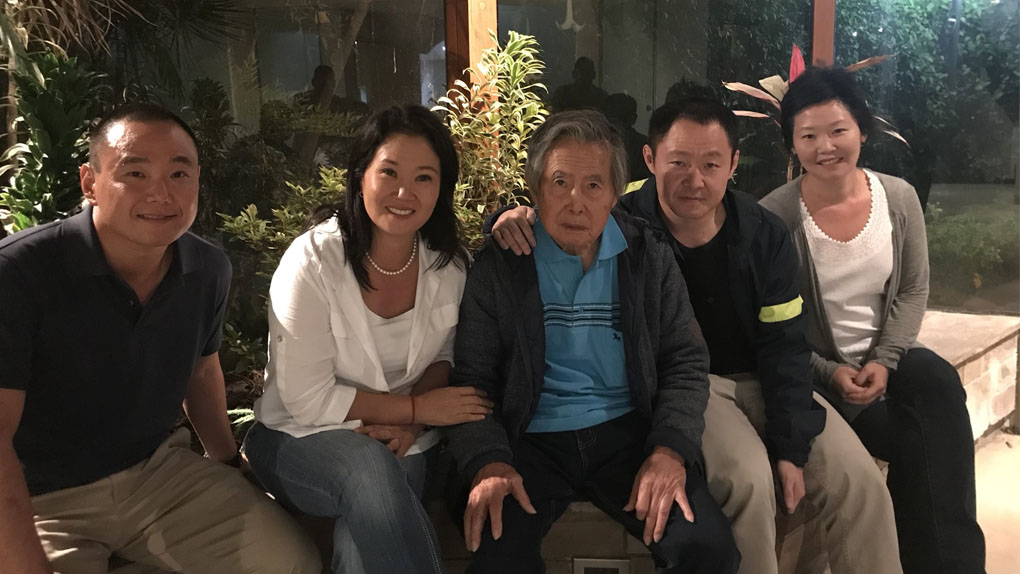 Alberto Fujimori salió de la clínica Centenario a 11 días de su indulto