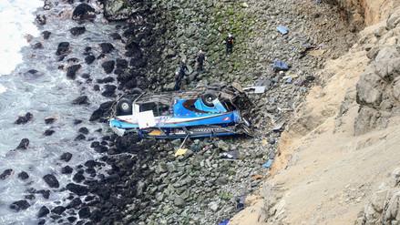 PNP concluyó que el conductor del tráiler provocó el accidente en Pasamayo