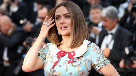 Salma Hayek será una de las presentadoras de los Globos de Oro