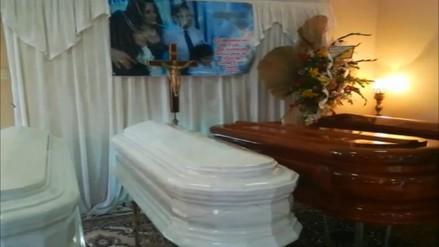Trasladan a Lima los restos de una familia que murió en el accidente de Pasamayo