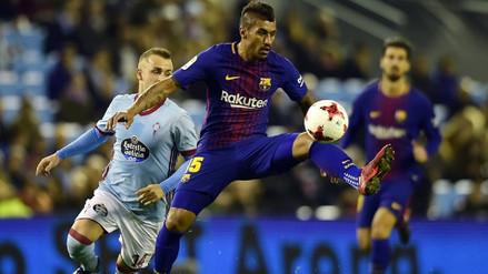 Barcelona empató 1-1 con Celta de Vigo por octavos de la Copa del Rey