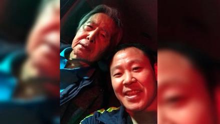 Kenji Fujimori compartió imágenes junto a su padre tras salida de clínica