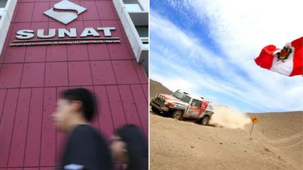 Dakar 2018: Sunat facilitó ingreso de vehículos que participan en el rally