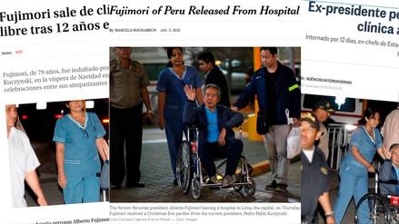 Medios internacionales informaron sobre la salida de Alberto Fujimori de la clínica