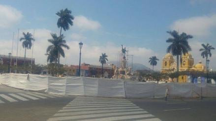 Trujillo: Anuncian inauguración de plaza de armas para el 15 de enero