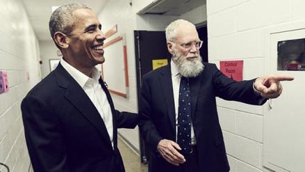 Obama será el primer invitado de David Letterman en Netflix