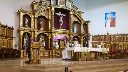 Con misa en la Catedral de Huacho homenajearon a víctimas de accidente en Pasamayo