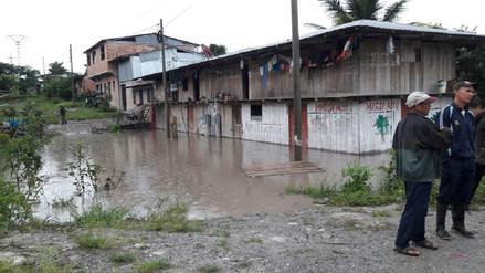 Fuertes lluvias afectaron 10 viviendas en Rioja