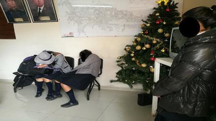 Cuatro escolares se intoxicaron con alcohol en la provincia del Cusco