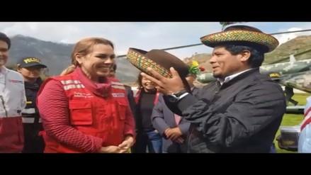 Ministra Molinelli visitó Ayacucho para reforzar servicio de Cuna Más