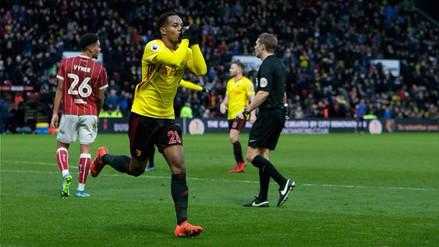 André Carrillo marcó en la victoria del Watford por la FA Cup