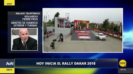 """Ferreyros sobre el Dakar 2018: """"Los beneficios para el Perú superarían los US$ 400 millones"""""""