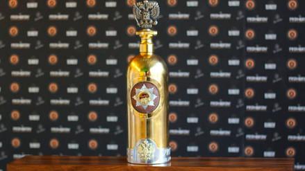 La Policía danesa recuperó vacía una botella de vodka de US$1.3 millones que fue robada