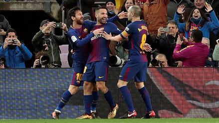 Lionel Messi y Luis Suárez encarrilaron el triunfo del Barcelona ante Levante