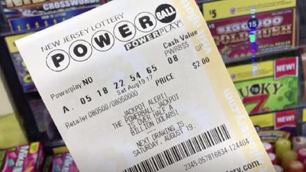 559 millones de dólares se llevó el ganador de la Lotería Power Ball en EE.UU.