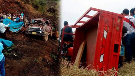 Accidentes de tránsito dejan dos muertos en Sechura y Ayabaca