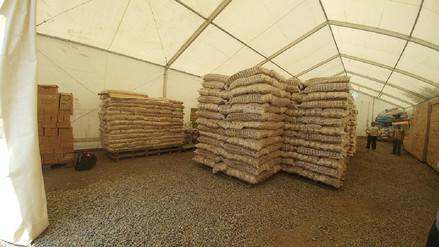 COER cuenta con 120 toneladas de alimentos ante eventual fenómeno 'La Niña'