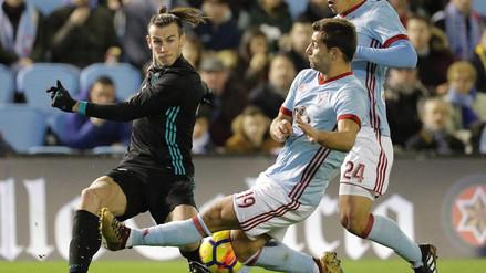 Real Madrid empató contra Celta y se mantiene lejos del Barcelona