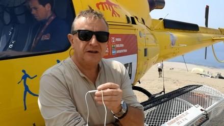 """Etienne Lavigne: """"Perú tiene una geografía excepcional para el Dakar"""""""