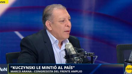 """Marco Arana: """"El indulto a Fujimori fue negociado, todo el mundo lo sabe"""""""