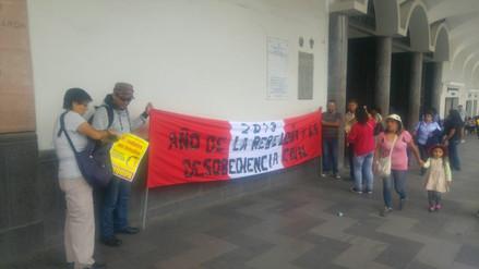 Colectivos se suman a marcha contra el indulto a expresidente Alberto Fujimori