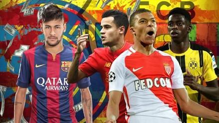 Los 11 fichajes más caros de la historia del fútbol
