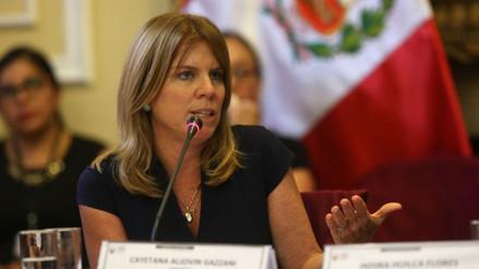 Cayetana Aljovín asumirá la cartera Relaciones Exteriores en el nuevo Gabinete