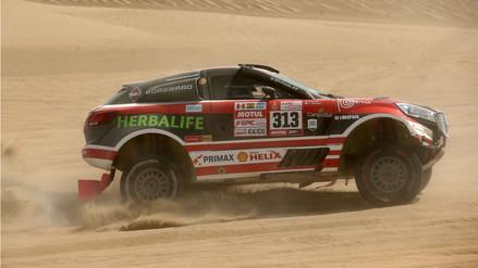 Conoce las clasificaciones de los peruanos en la cuarta etapa del Rally Dakar 2018