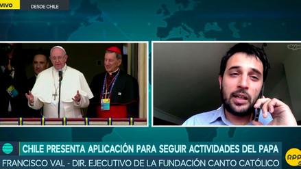 Lanzan aplicación para seguir cantos y misas del papa Francisco en Chile