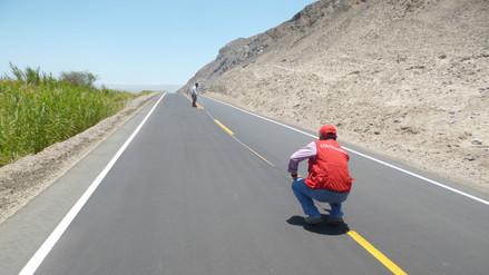 Existen riesgos en mantenimiento de carretera de Changuillo
