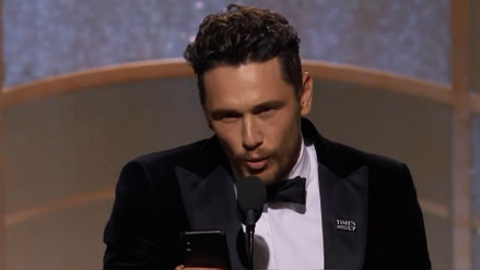 Actrices acusan a James Franco por acoso sexual