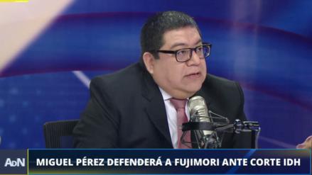 """Abogado de Fujimori: """"No cuestiono el pasado del expresidente, mi defensa es de aquí en adelante"""""""