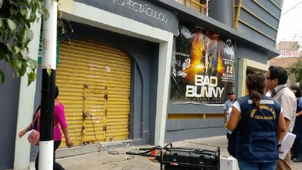 Clausuran local de diversión en céntrica avenida de Chiclayo