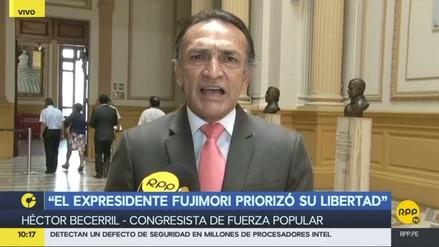 """Becerril: """"Diez congresistas de Fuerza Popular votaron a favor de la corrupción de PPK"""""""