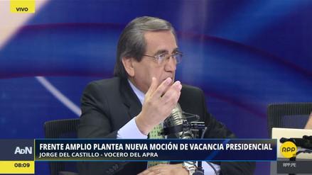 """Del Castillo: """"Yo voté pensando en el Perú, Mulder en sus propias decisiones de orden partidario"""""""