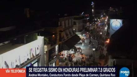 Las primeras imágenes del terremoto de 7.6 grados en Honduras