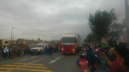 Competidores del Rally Dakar llegaron a la ciudad de Arequipa