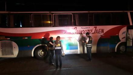 Policía capturó a hombre que atacó a balazos a bus con pasajeros