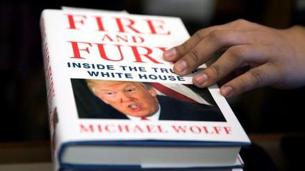 El nuevo libro sobre Trump, éxito de ventas en su primer fin de semana