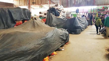 Comerciantes mayoristas cerraron puestos de venta de papa por paro agrario