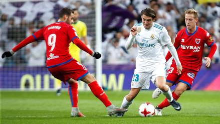 Real Madrid empató 2-2 contra Numancia y avanzó a cuartos de final